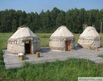 Юрта Сибири в Этномире Калужской области