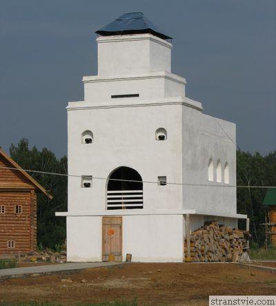 Русская печь в Этномире Калужской области