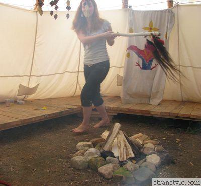Древние танцы с бубном
