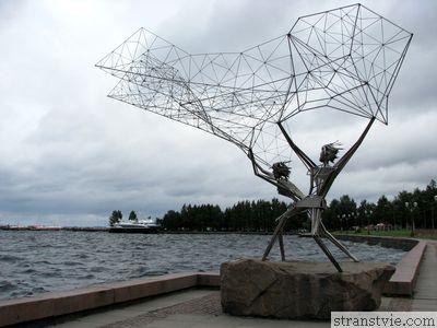 Рыбаки в Петрозаводске