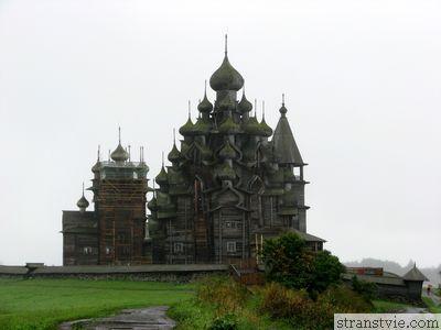 Церковь на острове Кижи