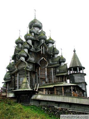 Преображенская церковь Кижи