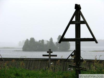 Кладбище на острове Кижи