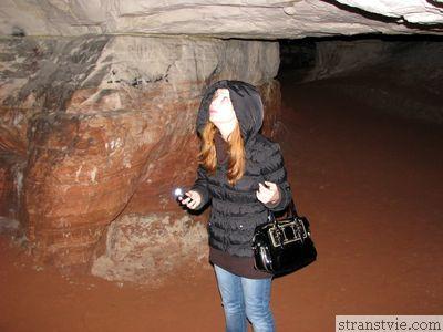 Annet в пещере