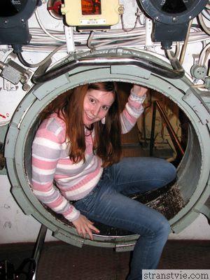 Annet в подводной лодке
