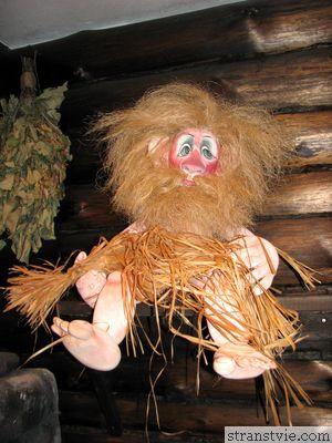 Дух банщика в музее кукол
