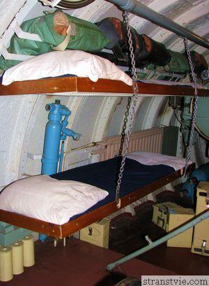 Каюта на подводной лодке