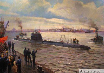 Подводная лодка Народоволец построена
