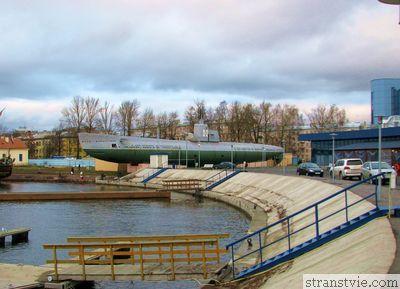 Подводная лодка в Санкт-Петербурге