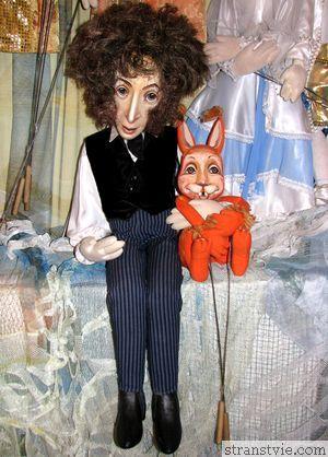 Пушкин из музея кукол