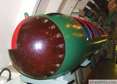 Торпеда на подводной лодке