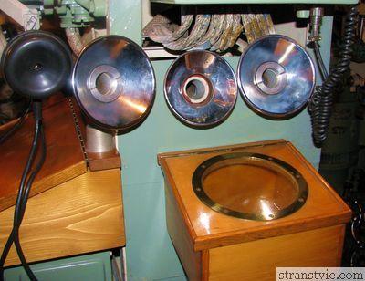 Трубы для связи на подводных лодках