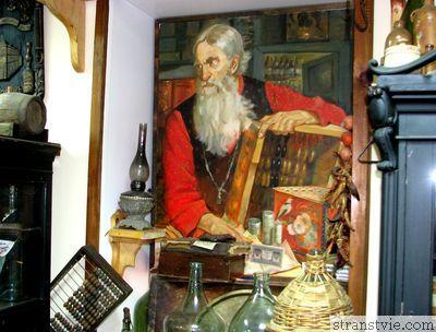 Музей библиотека русской водки в Угличе