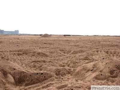 Песок в Финском заливе