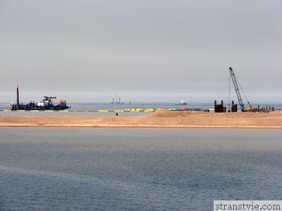 Морской фасад - намыв территории