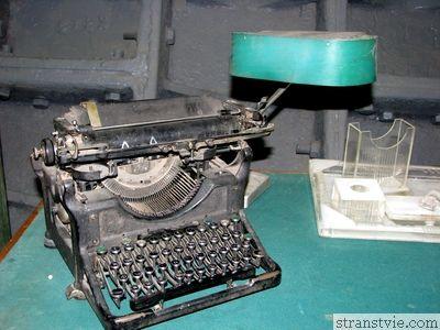 древняя печатная машинка
