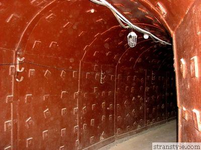 Коридор в секретном бункере Таганский