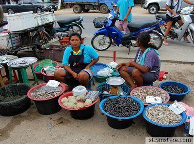 Рыбный рынок в Таиланде