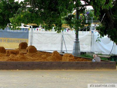 Песочница в Коломенском