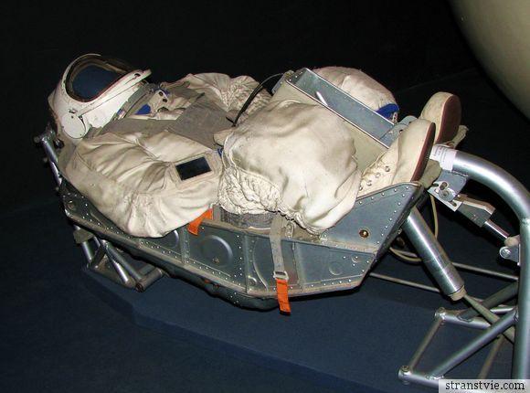 Поза космонавта