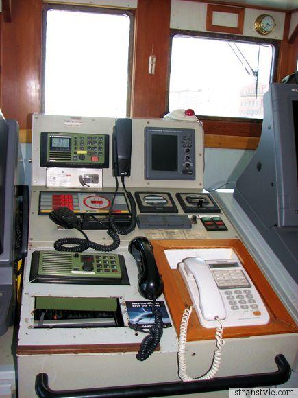 Пульт управления кораблем