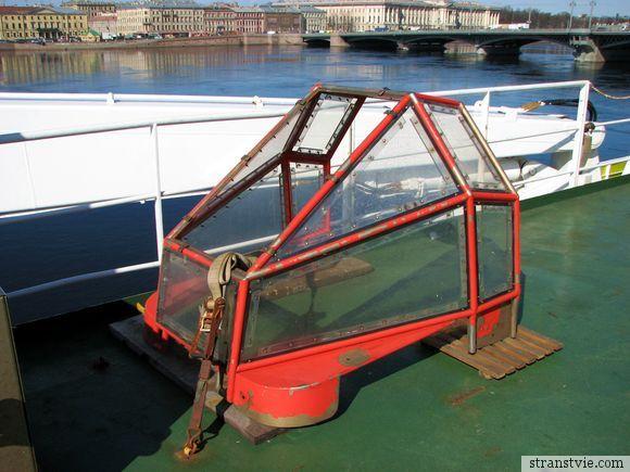 Защита лодок от сильных струй воды