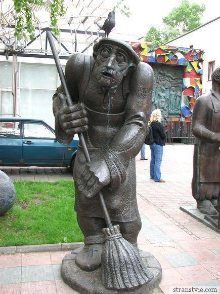 памятник горожанам Церетели