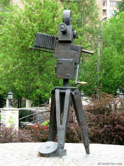 памятник видеокамере