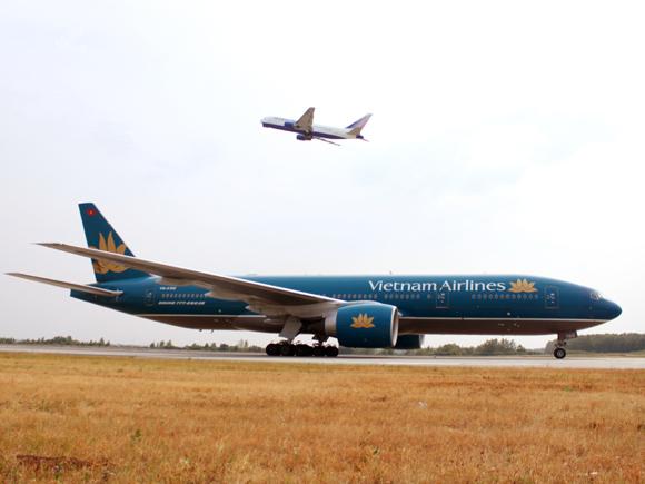 2 самолета встретились в Домодедово