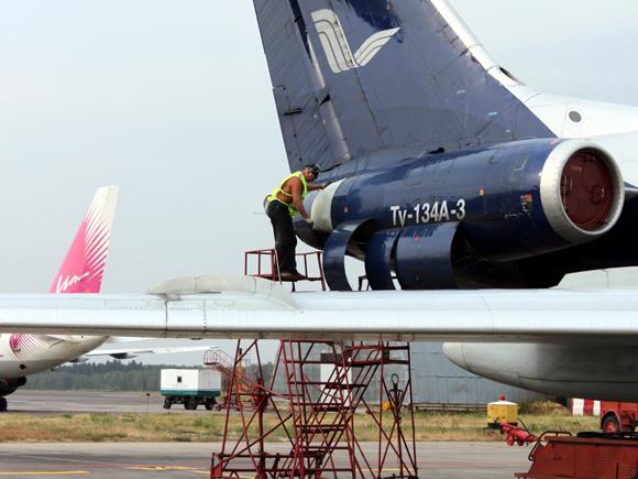 Починка самолета
