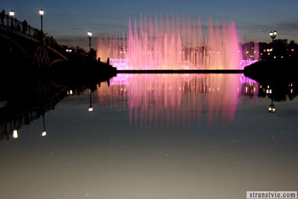 Музыкальный фонтан в Царицыно