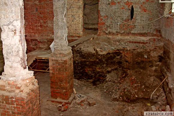 разрушенные кадашевские палаты