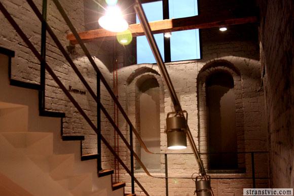 Лестница в зрительный зал