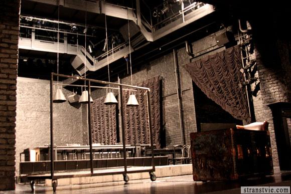 Сцена студии театрального искусства