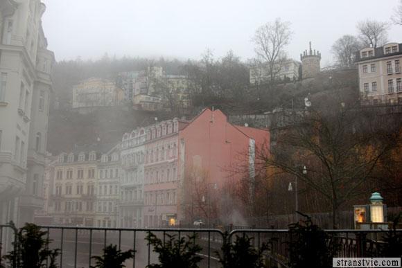 Туман в Карловых Варах