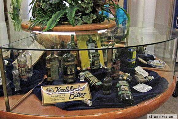 Старинные бутылки Бехеровки